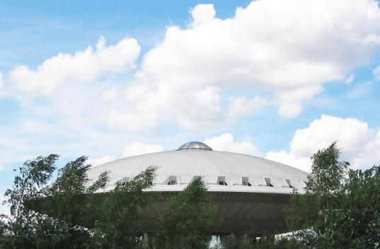 Inhabitat's Week in Green: Eindhoven's Evoluon Center, folding compact cars and the best of 3D printing