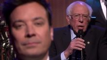 Bernie Sanders Channels Lizzo To 'Slow Jam The News' With Jimmy Fallon