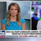 Biden calls Trump's foreign dirt comments 'dead wrong'