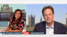 'Pompous' Piers Morgan grills Nick Clegg on tuition fees in extraordinary on-air clash