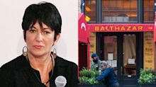 Patrons are turning against a famous restaurateur over his controversial Instagram posts about Ghislaine Maxwell