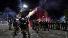 Serbia arrests 71 over virus protest violence, including Briton