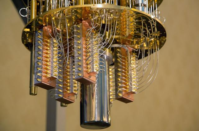 This is what a 50-qubit quantum computer looks like