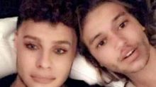 Perrie Edwards fools around on Snapchat as she gets cosy in bed with Alex Oxlade-Chamberlain