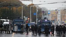 Belarus allows police to use combat weapons at protests