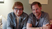 'Gingers Unite': Prince Harry and Ed Sheeran team up for World Mental Health Day