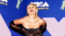 MTV VMAs 2020: Miley Cyrus stuns in see-through dress