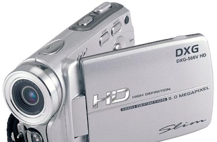 DXG delivers DXG-566V HD camcorder for $149