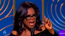 Oprah's incredibly powerful Golden Globes speech: 'A new day is on the horizon!'