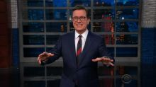 Breaking news of Trump meeting with N. Korea forces impromptu monologue from Colbert