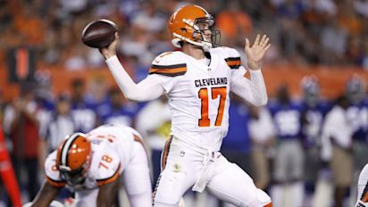 Report: Browns may trade struggling Osweiler