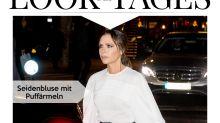 Look des Tages: Victoria Beckham strahlt in Neon-Highheels
