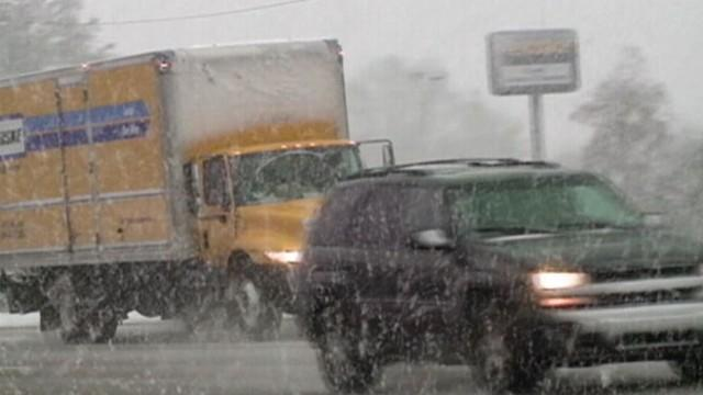 American South Hit by Winter Storms