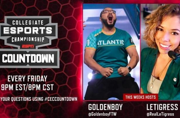 ESPN's college esports show debuts tonight at 9 PM ET