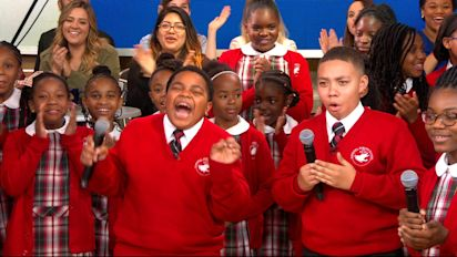 Choir whose 'Rise Up' performance went viral gets special surprise