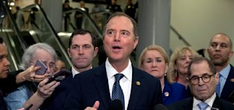Schiff takes deliberate approach in 2nd day of trial
