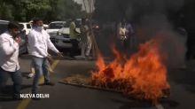 Violation y muerte de una mujer provoca indignación y protestas en India