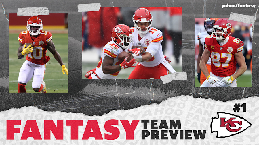 Chiefs rule the fantasy team landscape in 2021