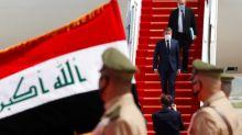 Macron backs Iraq 'sovereignty' on first Baghdad visit