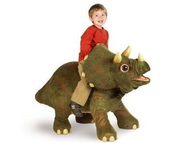 Kota the Triceratops makes our childhood toys look like wooden blocks