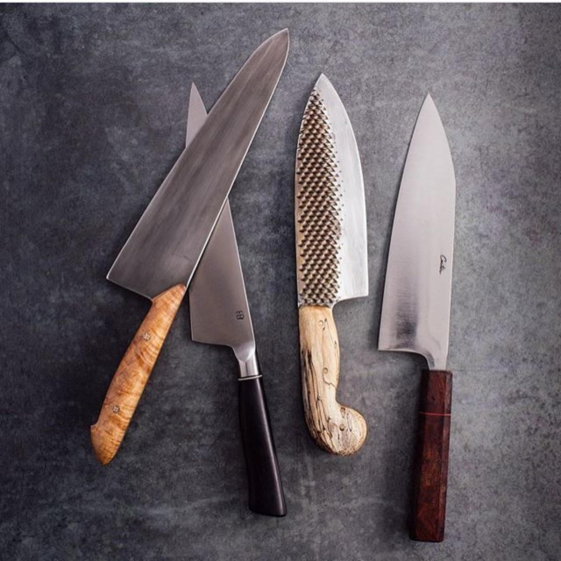 your favorite celebrity chefs are obsessed with these knives video. Black Bedroom Furniture Sets. Home Design Ideas