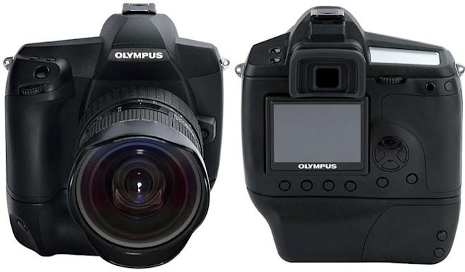 Olympus' E-1 followup on display at Photokina