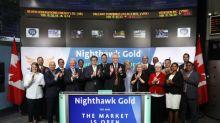 Nighthawk Gold Corp. Opens the Market