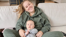 Shawn Johnson says she bears the burden of parent-shaming: 'It's the mom's responsibility'