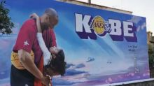 Sport, in Sardegna un murales in ricordo di Kobe