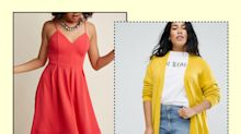Transition plus-size summer dresses into fall with these key pieces