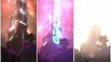 【新片速報】台灣101新年放煙花 日本網民:「好似大爆炸」
