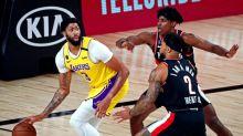 NBA roundup: Lakers defeat Trail Blazers, advance to semis