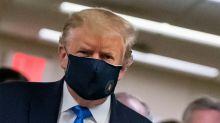 Réouverture partielle de Disney World, Trump porte un masque en public