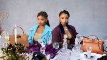 Chloe x Halle Wear High Heels on the Tennis Court For Fendi's New Campaign