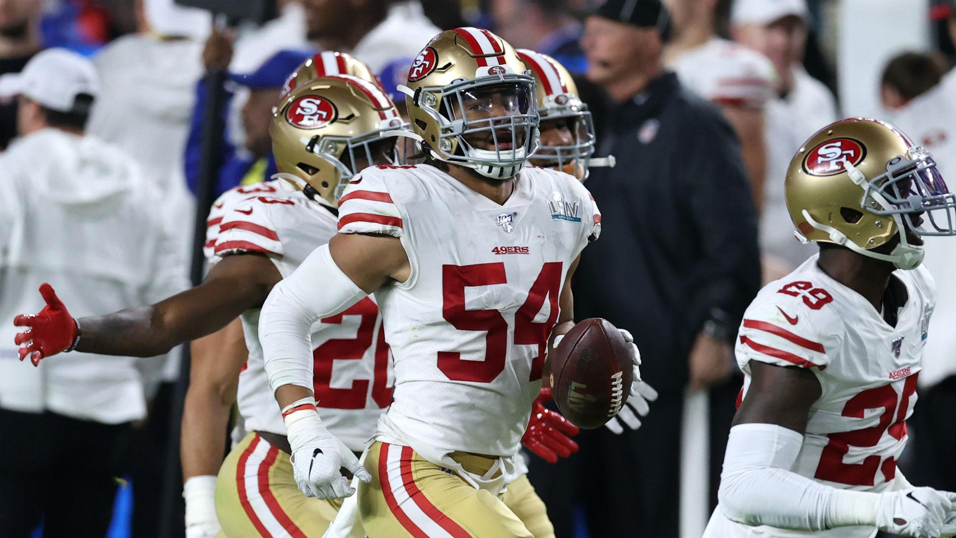 49ers place linebacker Fred Warner on reserve/COVID-19 list