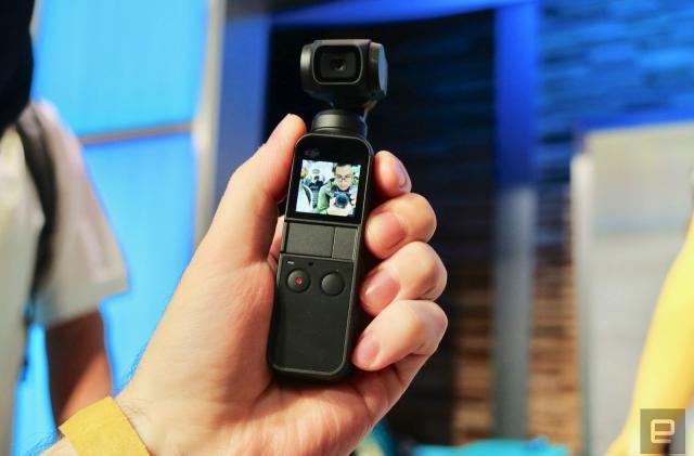 DJI's Osmo Pocket gimbal camera drops to $250 on Amazon