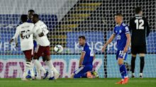 Leicester City 0-2 Arsenal: Fuchs own goal and Nketiah strike seal EFL Cup win