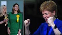 Nicola Sturgeon criticised for 'graceless' wild celebration after SNP unseat Jo Swinson