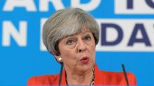 May says has support for long-held immigration target - BBC