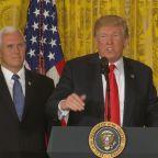 Trump wants U.S. to dominate space