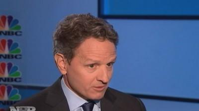 Geithner on the financial crisis