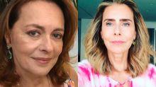 """Climão? Maria Zilda alfineta Maitê Proença: """"Ela só faz live se pagarem"""""""