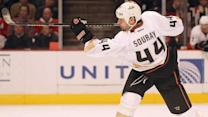 At Home with Anaheim Ducks' Sheldon Souray