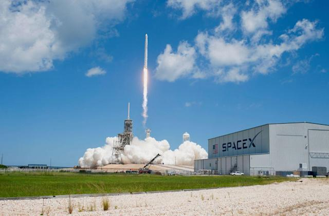 SpaceX launches NASA resupply mission with reused rocket and capsule