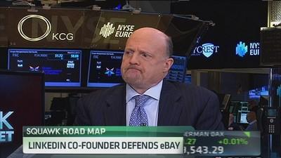 PayPal would benefit from focused management: Cramer