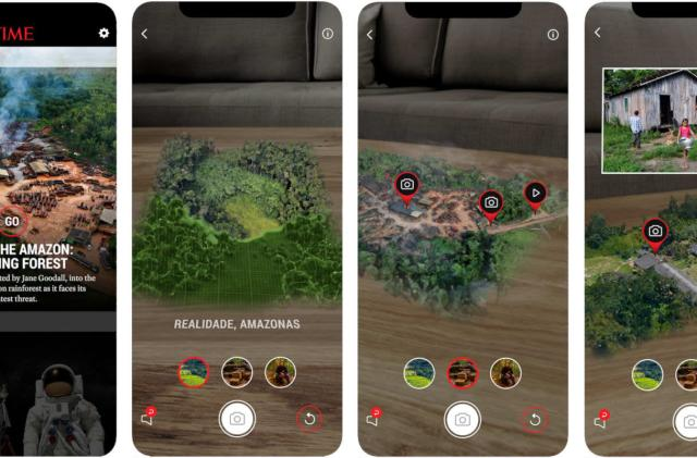 Time's mixed reality app takes you inside the Amazon rainforest