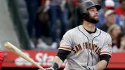 Giants' Belt sets record with 21-pitch at-bat