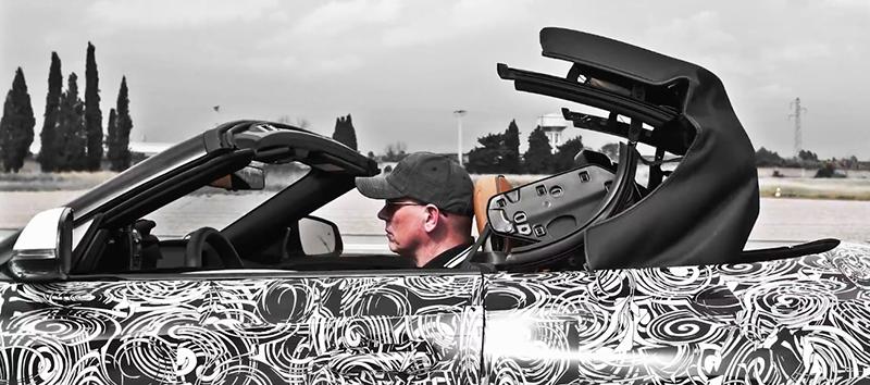 從影片中可知,全新Z4將改回經典的軟頂敞篷設計,以維持Roadster最重要的輕量化訴求。