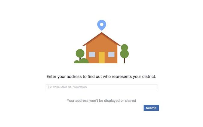 Facebook adds an easy way to find your local government officials