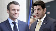 Paul Ryan invites France's Macron to address Congress next month